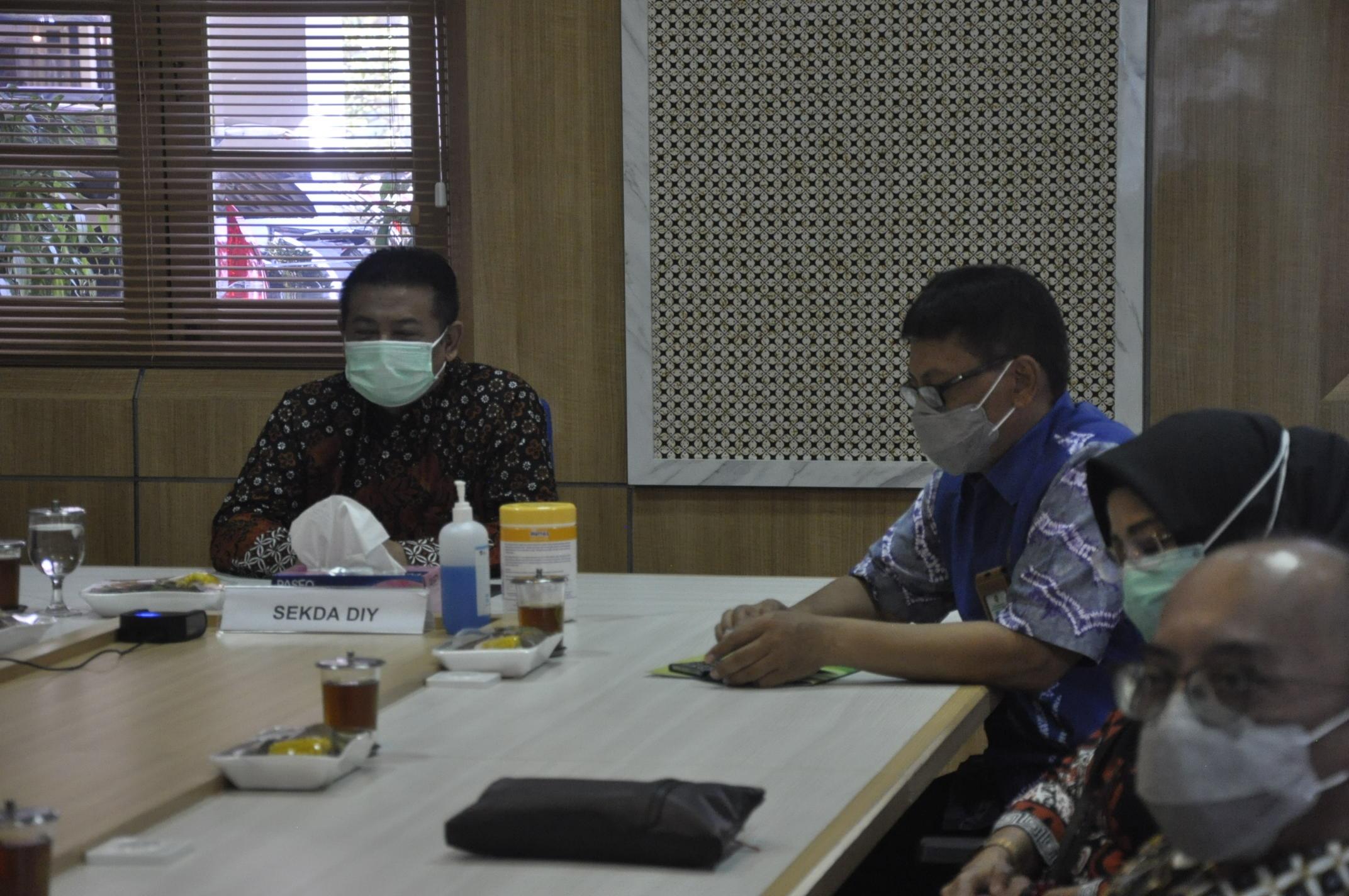 Exit Meeting Pelaksanaan Kepatuhan Penanganan COVID-19