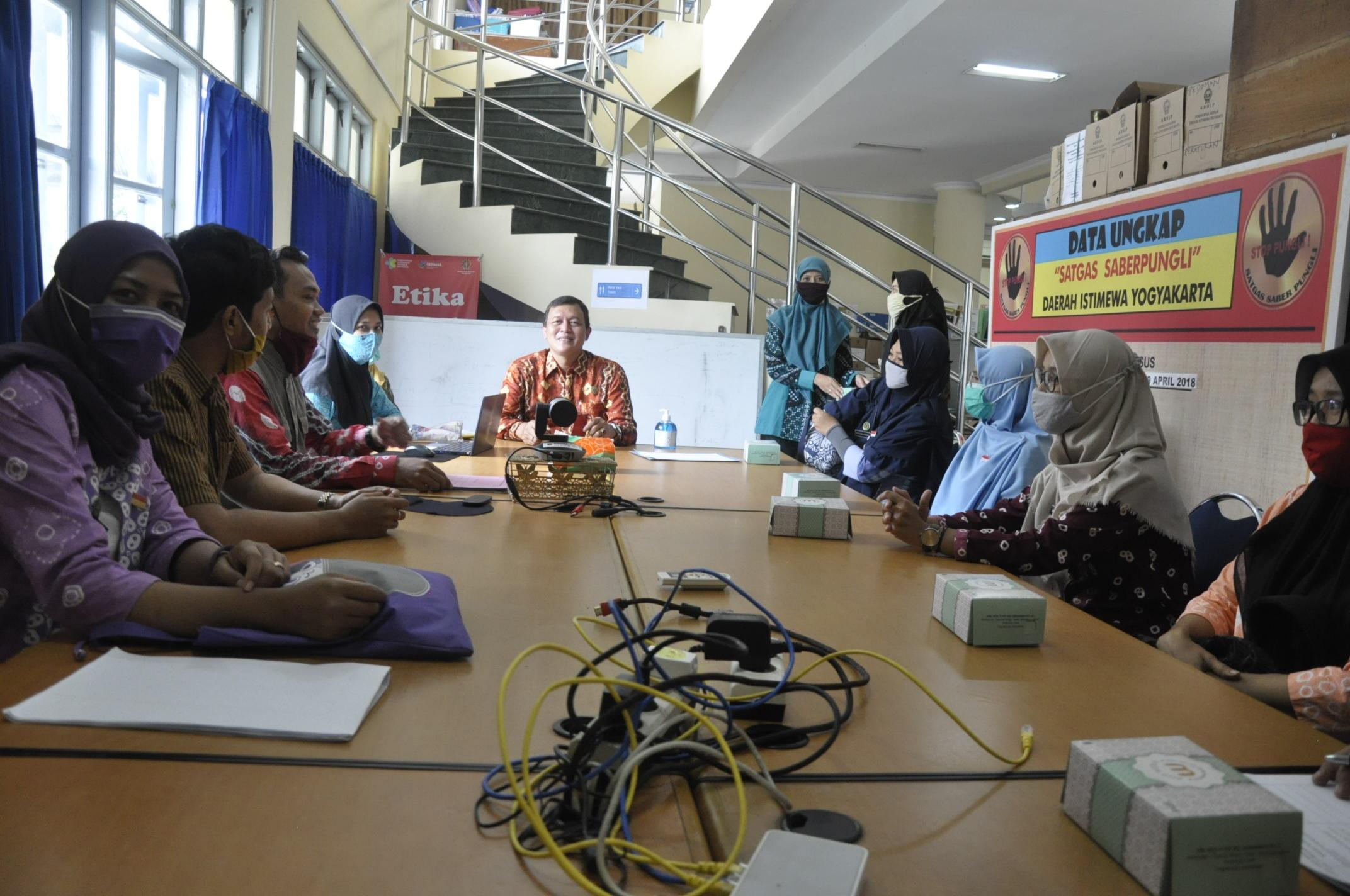 Kunjungan Team Telaah Sejawat Dari Inspektorat Kota Joga