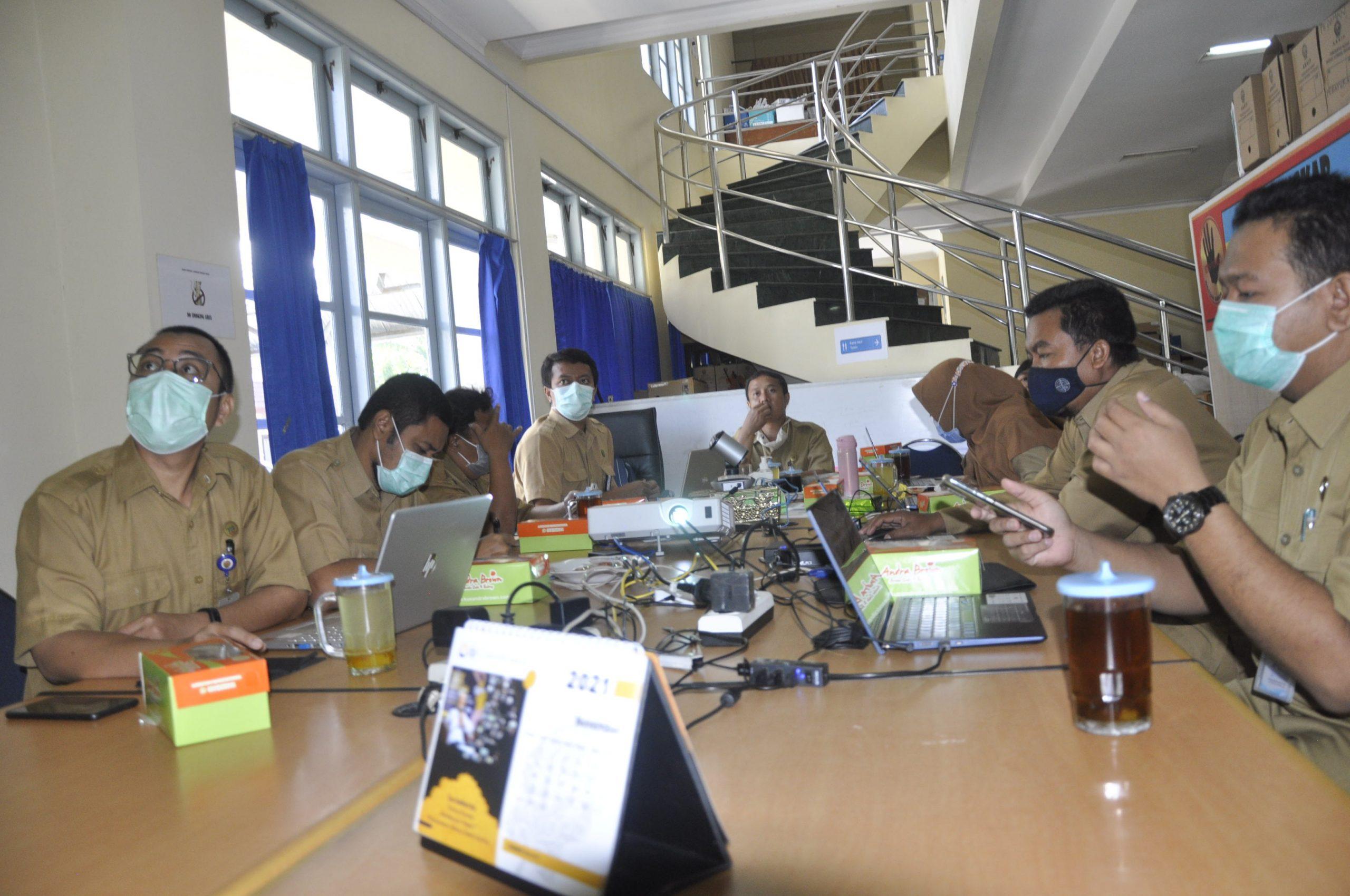 Rapat Koordinasi Tindak Lanjut Pembangunan Gedung  Tahap II