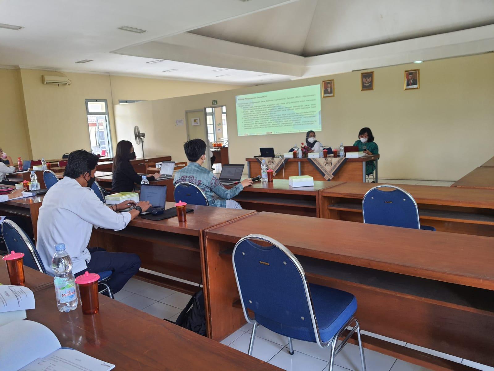 Forum Grup Discussion Evaluasi Dana Transfer Daerah Bantuan Operasional Sekolah dengan Kementrian Pendidikan, Kebudayaan, Riset dan Teknologi Republik Indonesia