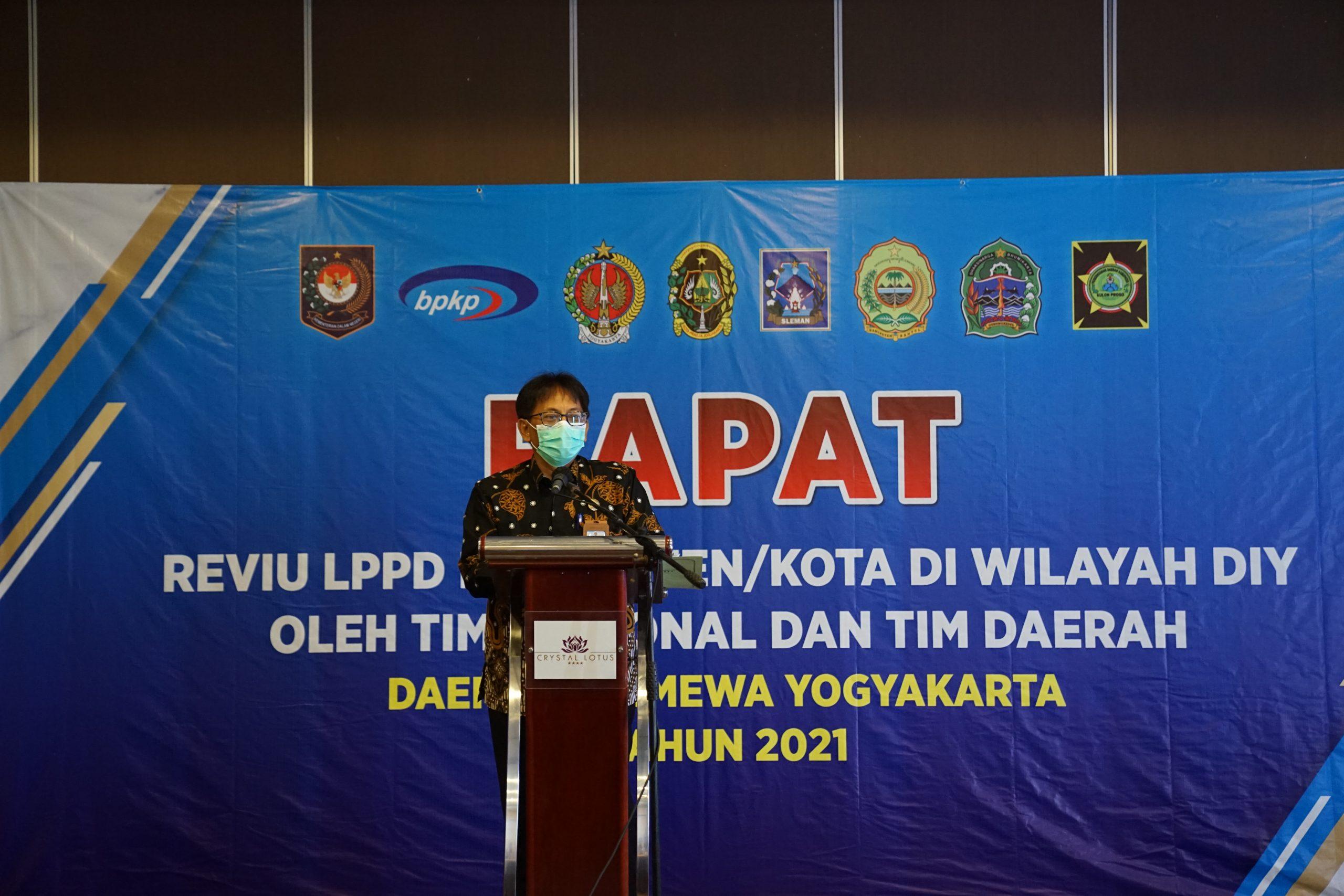 Rapat Reviu LPPD Kabupaten/Kota Daerah Istimewa Yogyakarta